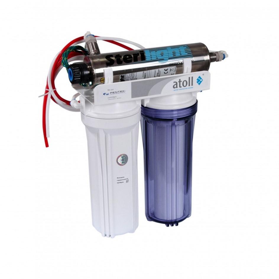 купить проточный фильтр для очистки воды